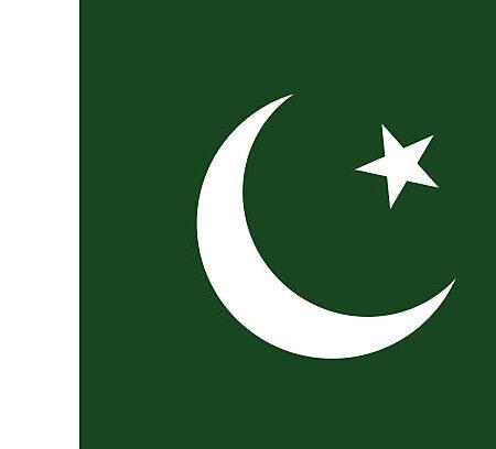 Parcham-e-Sitāra-o-Hilāl (Flag of the Crescent and Star), Proportion 2:3, Flag of Pakistan